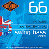 Струны для бас-гитары ROTOSOUND RS66LDN BASS STRINGS NICKEL