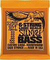 Струны для бас-гитары ERNIE BALL 2838 LONG SCALE SLINKY BASS 6-STRING ROUND WOUND 32-130