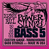 Струны для бас-гитары ERNIE BALL 2821 POWER SLINKY 5-STRING BASS ROUND WOUND 50-135