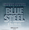 Струны для бас-гитары Dean MARKLEY 2676A 4-Stg MED BLUE STEEL NPS
